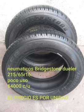 Neumaticos Bridgestone dueler h/t 215/65 r16