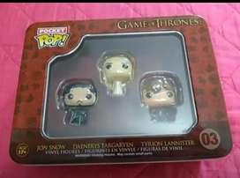 Funkos Game of Thrones x3 (Negociable)