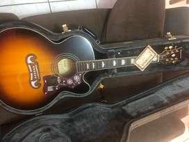 Guitarra Ephiphone Ej - 200  Case Orig