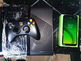 Xbox 360 super slim + Celular Moto G7 Power