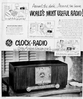 Vintage General Electric  546 Am Radio Despertador.coleccionistas