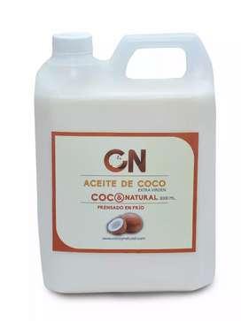 Aceite de coco galón 3 litros C&N (foto 1)