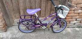 Bicicleta usada rodado 14 para niñas