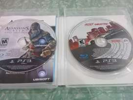 Assasinns creed ( ezio trilogy ) y N.F.S ( Most wanted ) PS3 JUEGOS FÍSICOS