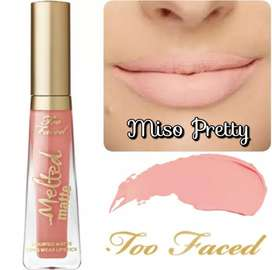LABIAL LÍQUIDO MATE TOO FACED MELTED MISO PRETTY RECOLETA