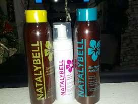 Shampoo y  Acondicionador  anticaida  NATALYBELL