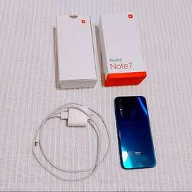 Xiaomi Redmi Note 7 - Impecable en caja completa original.