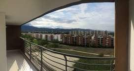 Se Arrienda Apartamento amplio con Full acabados,2 habitaciones + estudio, con amplio balcón y bella vista