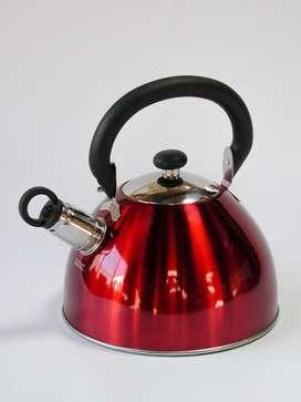 Tetera Tea Kettle Mr. Coffee Whistling de 1,8 Qt.