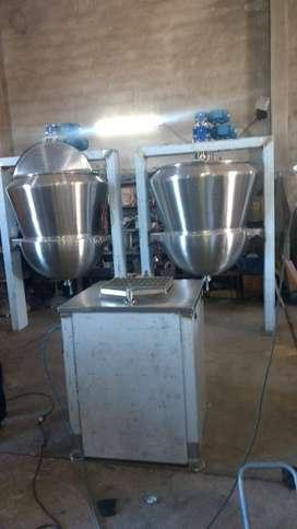 Pailas nuevas total acero inox 2 pailas usadas acero inox 1 caldera 185 mts