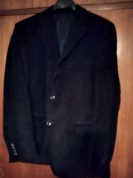 Saco de corderoy negro impecable