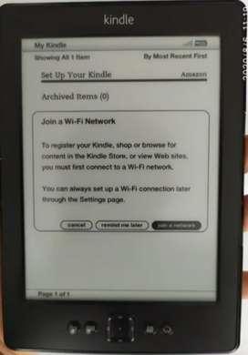 Lector Amazon Kindle 5 Generación Pantalla 6 Wifi E Reader - PRECIO NEGOCIABLE