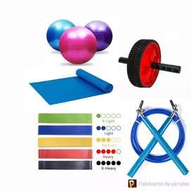 Implementos para gimnasio