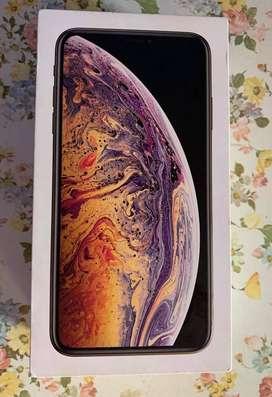 En venta Iphone Xs Max de 512 GB Nuevo, con caja y accesorios !