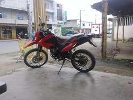 Vendo moto shineray 200 cc a toda prueba pantanera