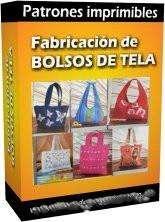 Patrones imprimibles para hacer bolsos de tela para mujer