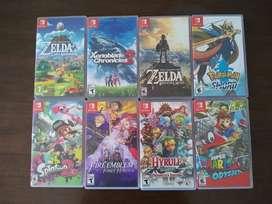 Juegos de Nintendo Switch - Precio por unidad