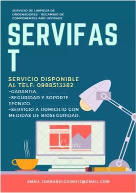 ServiFast Servicio técnico de ordenador completamente Garantizado.