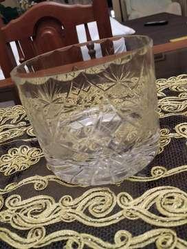 8 Vasos de Cristal Pesados Traídos Venec