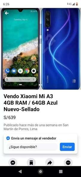 Xiomi A3 celular
