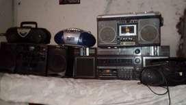 equipos de audio varios