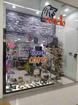 almacén de calzado en el centro comercial River Plaza