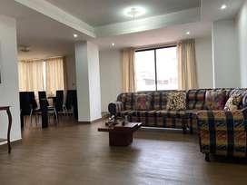 Departamento amoblado en Riobamba, excelentes condiciones y ubicación, buena ventilación, iluminación e internet