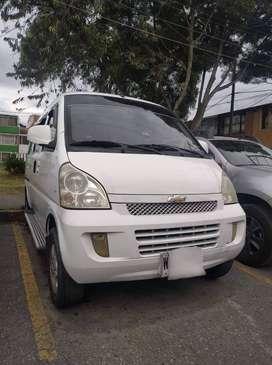 Camioneta N300 Chevrolet pasajeros 2014 Publica