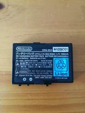 Batería original para Nintendo DS Lite como nueva