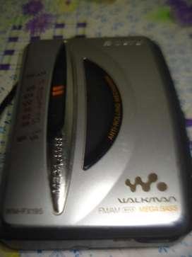 Walkman Sony Wm-fx195 Radios Am/fm Funcionan.-la Casetera No segunda mano  La Paternal, Capital Federal