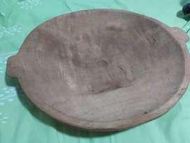 Batea de madera artesanal