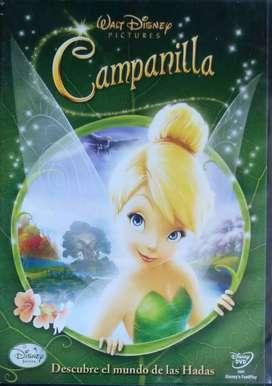 Tinkerbell, Campanita descubre el mundo de las hadas