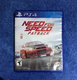 Cambio solo cambio Need for speed payback ps4