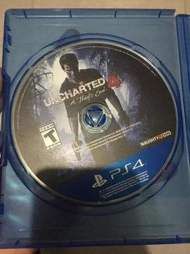 Uncharted en buen estado