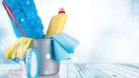 Empleada para limpieza y planchado