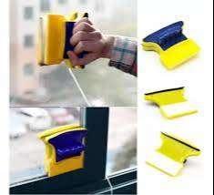 Limpiador Magnetico Ventanas Vidrios Limpia Adentro Y Afuera