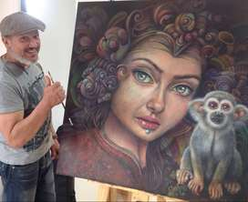 Clases de dibujo y pintura a domicilio - bogota