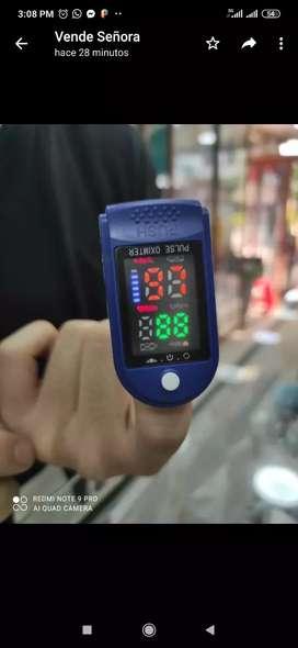 Vendo oxímetro de pulso controla la salud de tu familia