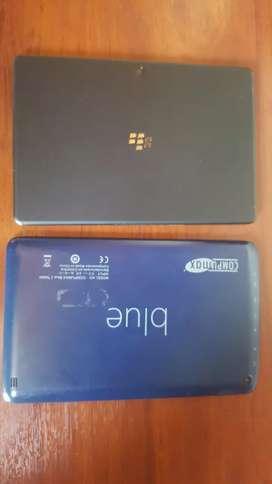 Tablet BlackBerry y blue para respuestos