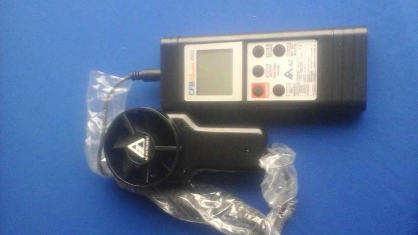 Anemometro digital az dagatron punta de prueba separada