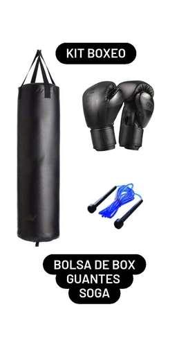 Kit Boxeo!! EY! Entrenemos