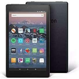 Amazon tablet fire HD 8, 16 GB.