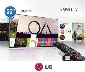 Smart Tv Lg 55 Uhd 4k Magic Control