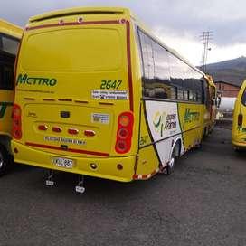 Hino BF4JJ modelo 2007 buzeta 27 pasajeros