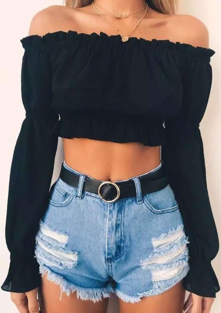 Blusa hombros 0