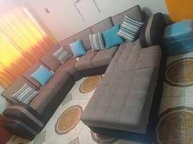 Vendo mueble sofá cama para sala grande casi nuevo