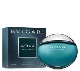 Perfume aqua Bvlgari 100 ML original caballero
