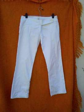 Pantalones Blancos Elastizados
