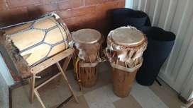 Set de tambores Costa Colombiana