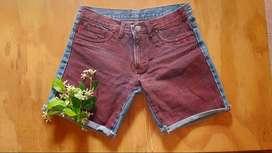 Short jean vintage Ossira